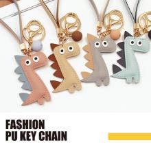 Дизайн динозавра PU Fashion брелок