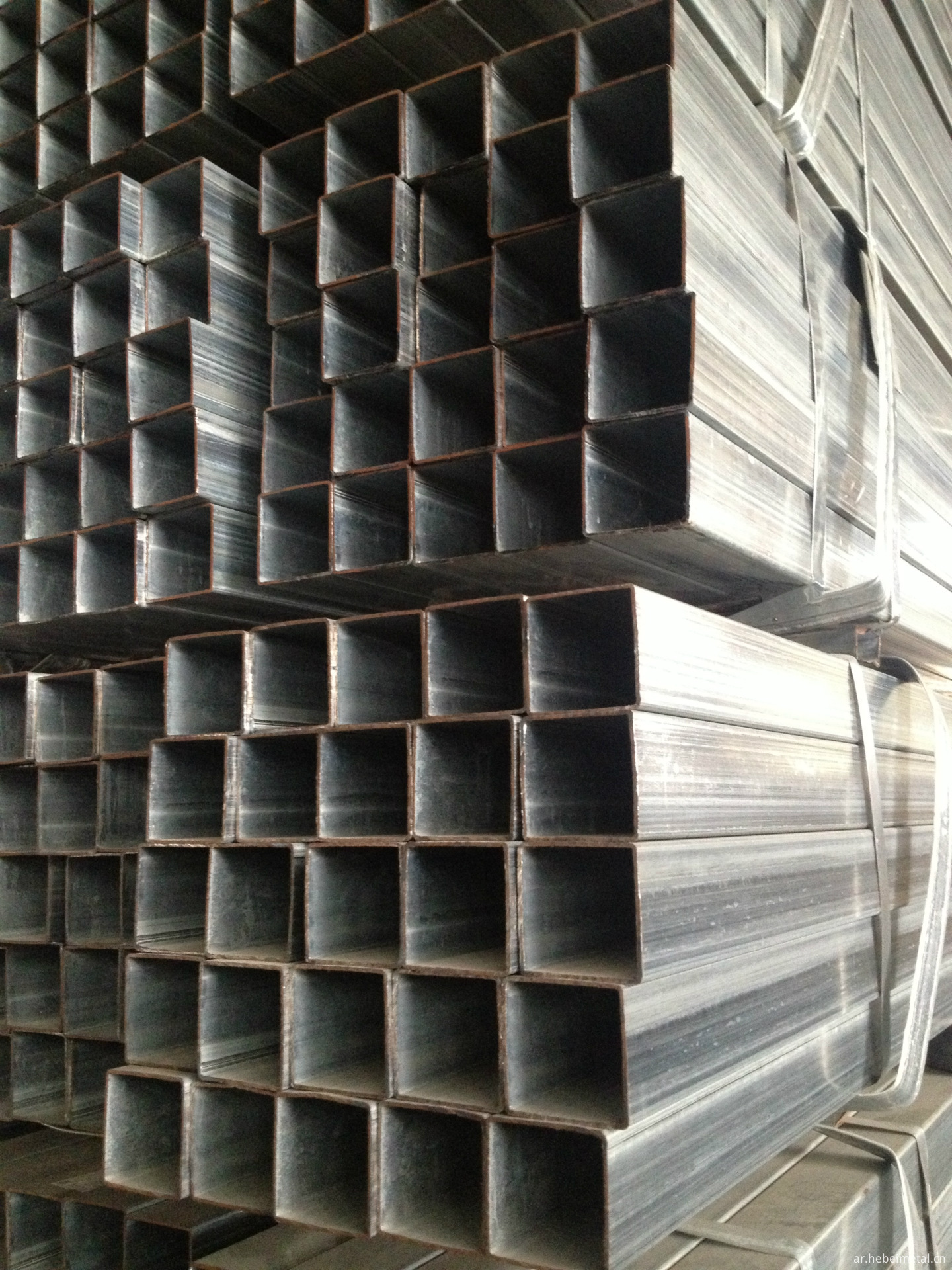 galvanized square tube