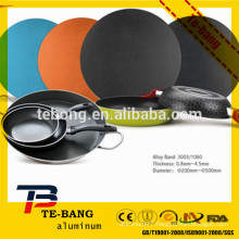 2015 newest aluminum color coated circle/disc China supply
