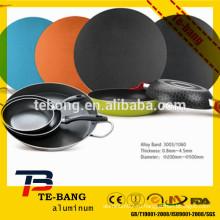 2015 новейший алюминиевый цвет с покрытием круг / диск Китай предложение