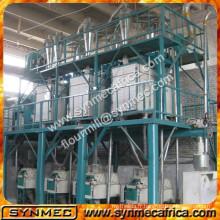 Machine complète de farine de maïs de farine de maïs de moulin de farine de maïs de 50 tonnes