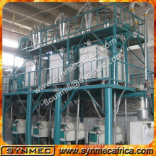 Complete Corn Flour Mill 50 ton Maize Meal Maize Flour Milling Machine