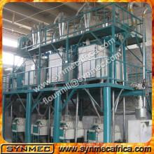 Moinho de farinha de milho completo 50 ton Moinho de farinha de milho máquina de moagem de farinha