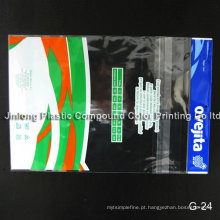 Bolsa de vestuário de plástico transparente OPP / CPP