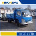 China Light Duty Dump Lastwagen LKW zu verkaufen