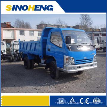 Camião basculante pequeno do camião basculante do dever da luz de 2 toneladas