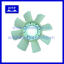 Auto radiator cooling fan blade for MITSUBISHI Engine 6D22A for FUSO FP418 ME055056 8Blades 6Holes
