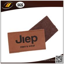 Patch de couro em relevo personalizado com design de moda (HJL46)