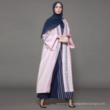 Propietario diseñador marca oem baju kurung malasia fabricante ropa islámica al por mayor de encargo Dubai vestido de lujo abaya