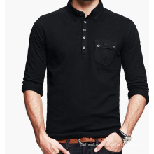 Мужская хлопковая рубашка поло