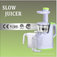 Carcaça de plástico como visto na TV Cold Press Juicer lento
