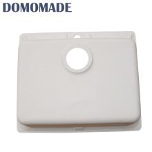 Fregadero de acrílico casero del hogar de la decoración mediterránea resistente a la corrosión para la cocina / el fregadero de cocina de cerámica