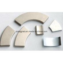 38sh постоянный магнит неодима дуги NdFeB для асинхронных двигателей