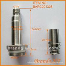 Conjunto pneumático de tubo de êmbolo solenóide para válvula solenóide