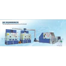 Автоматическая производственная линия для розлива / наполнения волокна для игрушек и подушек (SZBSM1000-SL2.2 / 8-2CM2)