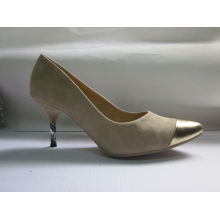 Fashion MID High Heel Pointed Toe Dress Shoes (HCY03-002)