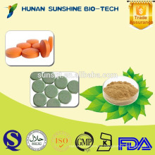 al por mayor alibaba Granos de café verdes Extracto de tabletas de ácido clorogénico para perder peso y la medicina sexual