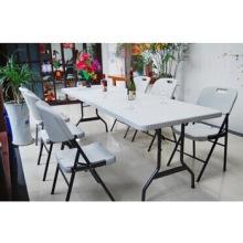 Mesa de dobramento de 2 metros / mesa de banquete / mesa de jantar