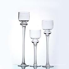 Support de verre transparent avec poignée