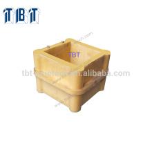 Fait par le polyuréthane un moule de cube