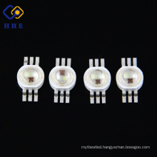 2017 Hot Sale Factory Wholesale High Power LED Strip 6 Pin RGB LED 3W