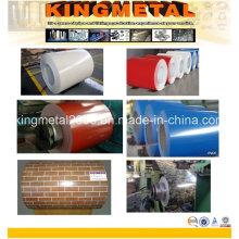 Vorgemalte Stahlspule und -blech