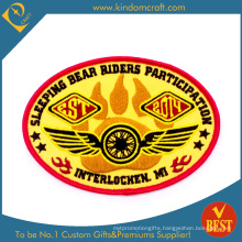 Custom Sleeping Bear Riders Participation Embroidery Patch (LN-0165)