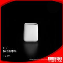 2015 neue moderne Design neue feine Bone China Serviettenhalter