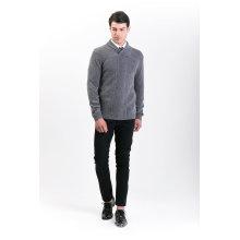 Camisola de Mistura de Cashmere para Moda Masculina 18brawm007