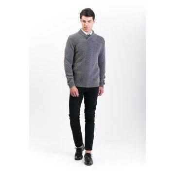Мужская мода кашемир смесь свитер 18brawm007