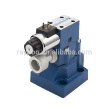 Válvula solenóide de pressão hidráulica tipo rexroth DBW25