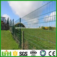 2016 bajo precio galvanizado o PVC recubierto paneles de la cerca