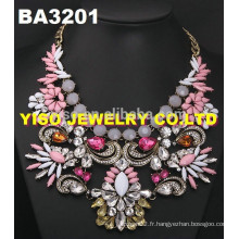 Collier de mode et costume rhinestone