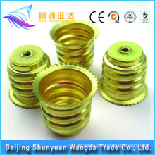 Beijing sheet metal stamping parts types of electric lamp holders