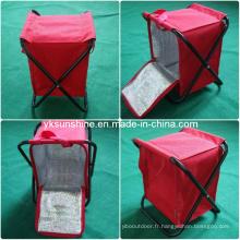 Tabouret de camping avec sac isotherme (XY-104A1)
