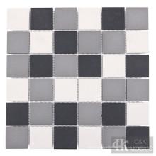 Placa para salpicaduras de azulejos de mosaico de cerámica 2x2