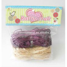 Rouleaux de raphia à cordes en raphia, corde en raphia en plastique, corde en raphia