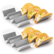 2-Pack Taco Holder Stand Stainless Steel