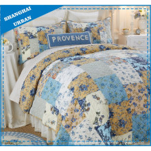 Provence Spring Gardens Polyester Patchwork Quilt