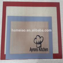 Silicona de grado alimenticio Materiales antiadherente alfombra de hornear de silicona