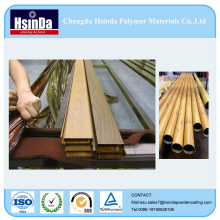 Wood Grain Transfer Powder Aluminum Spray Powder Coating for Housing Construction