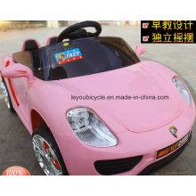 Coches eléctricos de juguete rosa para las niñas