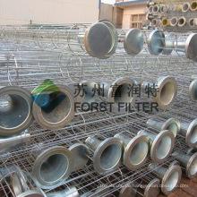 FORST Industrial Carbon Stahl Filterkäfig für Luft Staub Filter Tasche