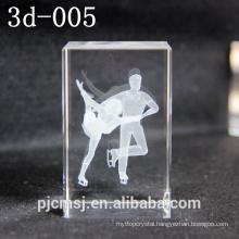 3D Laser Crystal glass Cube 3D Laser Modle 3D Figure