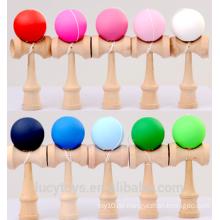 Großhandel Gummi Farbe Kendama Spielzeug