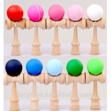 Wholesale Rubber Paint Kendama Toy