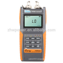 FHM2 Optical Loss Test Set, fiber power meter and laser source ,Optical Multimeter with English Menu