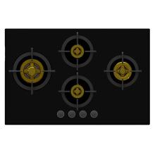 Верховная Уникальная 4 Латунная Газовая Печь Горелки (Стекло 8 мм)