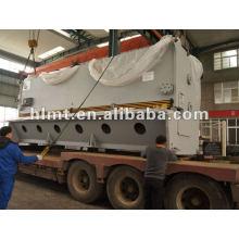 Cisalhamento de sucata hidráulica, QC11Y prensa hidráulica freio e cisalhamento, máquina de corte de metal de trabalho
