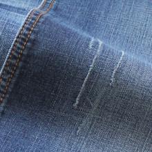 Tissu en denim de coton brossé de haute qualité